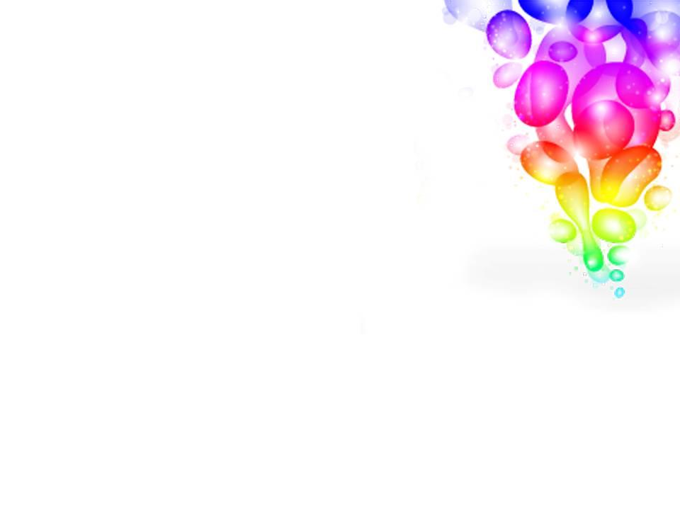彩色泡泡艺术背景PPT模版下载