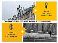精美的欧式风格图片排版背景商务PPT宝藏模版