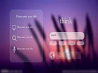 精美的ios风格科技网页风设计PPT宝藏模版