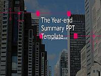 贵族紫大气工作总结报告PPT模版下载