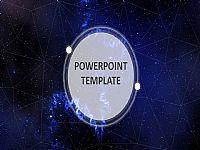 发光体元素设计IOS幻美星空精美PPT宝藏模板下载