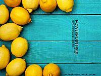 清新柠檬PPT模板下载