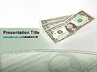 美元纸币金融PPT素材