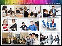 9张企业培训会议场景人物幻灯片插图商业PPT素材
