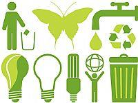 绿色环保PPT图标素材