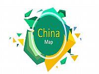 中国各省地图板块与地图总览PPT图片素材