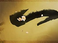 水墨中国画ppt背景图片