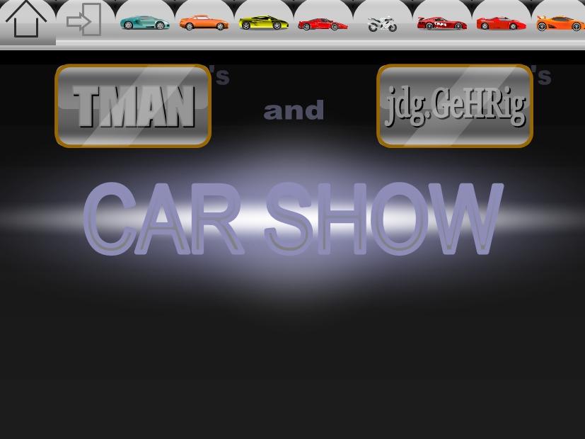 赛车主题人机界面互动ppt特效模板下载