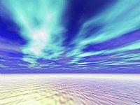 清水蓝天-自然PPT模板