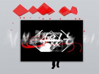 黑色韩国创意酷炫动态PPT模板下载