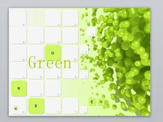 动态创意环保主题绿色ppt模板下载