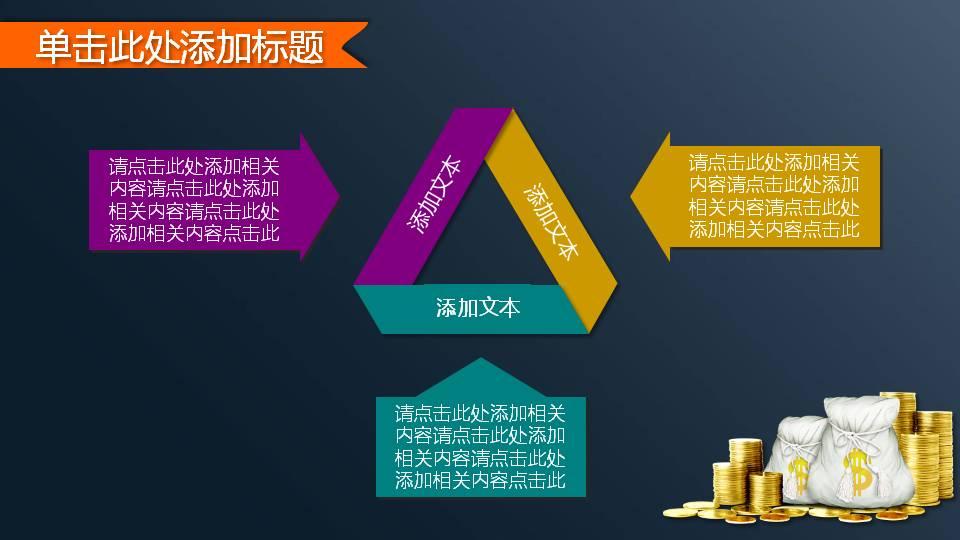 经济金融理财PPT模板下载